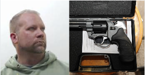 Weapon 'enthusiast': Urquhart has been jailed for nearly four years.
