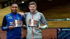 Morelos and Gerrard won their first monthly awards.