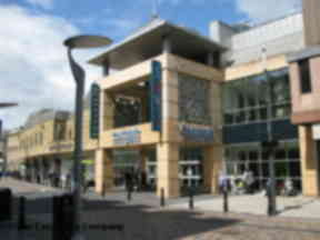 Centre: The alleged incident is said to have taken place near the Archie Cafe.