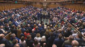 Brexit: MPs delay approving Boris Johnson's Brexit deal