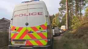 Birkenhill Wood: A pensioner has died after an attack.