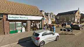 Hunt for thief after pharmacy robbed at knifepoint