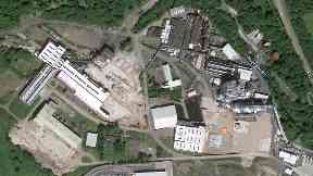 The site of former paper mill Tullis Russell will be transformed.