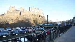 View: Castle Terrace Car Park