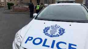 Dundee: A rapist forced his way into a house.