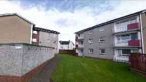 Camelon Crescent: Man died after being found injured.