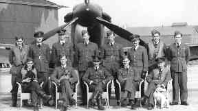 Squadron: Some of the heroes from World War Two.