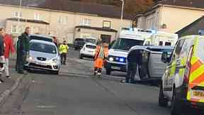 Kirkcaldy: Police are on the hunt for the driver.