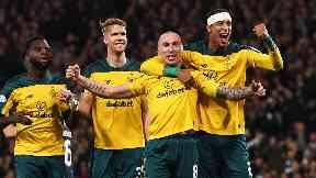 Celtic have reached the League Cup final.