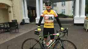 Jak will get on his bike to raise money.