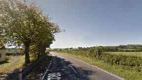 B780: Incident happened on rural Ayrshire road.