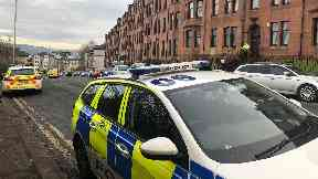 Greenock: Two people are fighting for their lives.