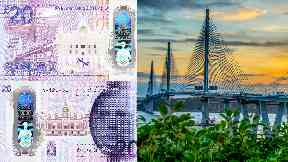 Money: A commemorative £20 banknote has been unveiled to celebrate the Queensferry Crossing.