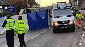 Crash: Pensioner killed and teen seriously hurt.