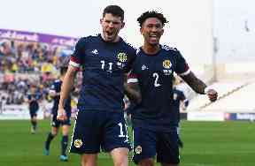 Christie and McGinn secure 2-1 victory for Scotland
