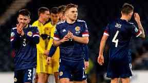 Scotland geared up for the play-offs by beating Kazakhstan.