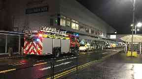 Glasgow: Emergency services were called to the airport.