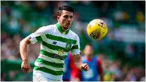 Start: Morgan has been given the nod by Neil Lennon.