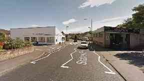 Cardenden: A man was knocked down outside a Tesco Express.