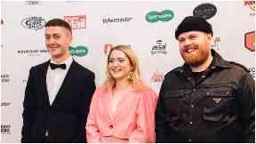 Scottish Music Awards: Joesef, Be Charlotte and Tom Walker.