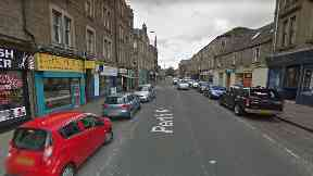 Dundee: A woman was attacked outside a takeaway.