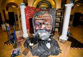 Scots philanthropist Carnegie honoured with 3D portrait