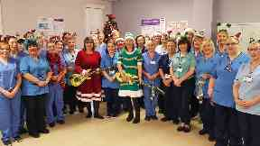 Musical midwives are back with Christmas song for charity