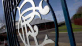 Murray Park: The Rangers players and administrators continued talks on Tuesday morning.