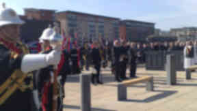 Memorial unveiled to Dundee submariners