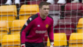 Number one: Michael Fraser will retain his place as Motherwell's goalkeeper after Kyle Letheren's deal collapsed.