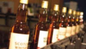 Imports: Scotch whisky will be hit by tariffs of 25%.