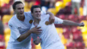 Motherwell had played without a permanent shirt sponsor in their four Europa League ties, before Commsworld's deal.