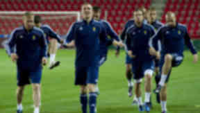 Strength in numbers: Scotland are set to adopt an unfamiliar tactical approach to keep Czech Republic out.