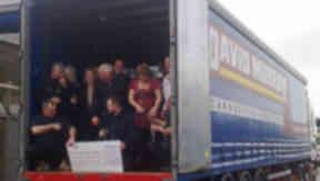 Lotto winners: Carnoustie transport syndicate