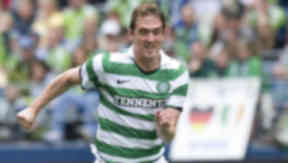 I'll be back: Morten Rasmussen says he will return to Celtic this summer.