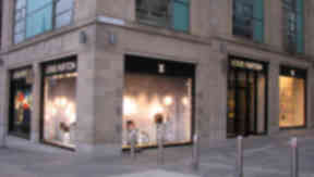 Louis Vuitton: The designer brand has a store on Edinburgh's upmarket Multrees Walk.