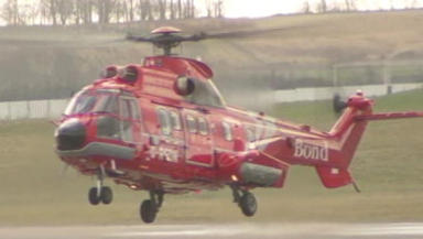 Super Puma: Helicopter similar to this one crashed.