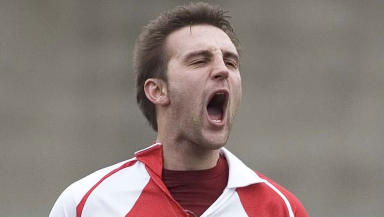 Greig McDonald replaced Jocky Scott at Stirling Albion
