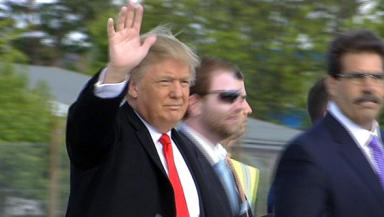 Donald Trump: to be honoured by RGU