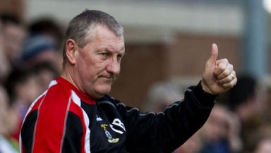 Inverness Caledonian Thistle boss Terry Butcher.