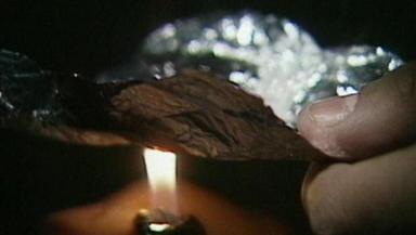 Heroin: Seized in Shetland raid.