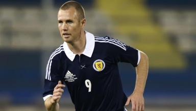 Scotland striker Kenny Miller.