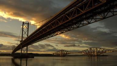 Forth Road Bridge: Man was seen on flyover.