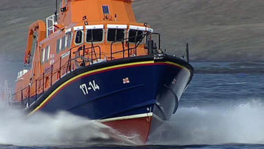 Death: Coastguard and lifeboat teams were called.