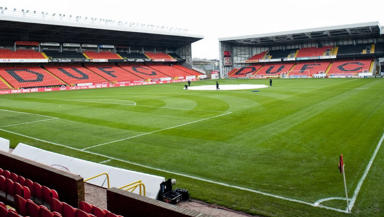 Tannadice Stadium: four Dundee United players involved in incident