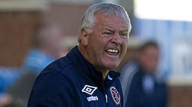 Dunfermline Athletic manager Jim Jefferies