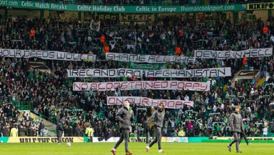 Banner: Celtic have issued a statement about the incident.