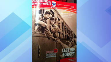 Magazine blunder: Airdrie United chiefs have said sorry.