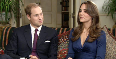 Happy Couple: William and Kate discuss their plans.