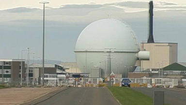 Dounreay: Particles discovered on nearby seabed.